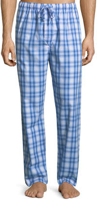 Derek Rose Ranga 30 Plaid Cotton Lounge Pants