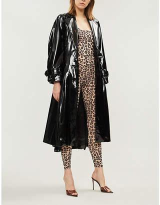 Good American Leopard-print stretch-jersey jumpsuit