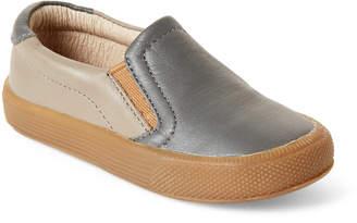 Old Soles Toddler Boys) Elephant Grey Dress Hoff Slip-On Sneakers