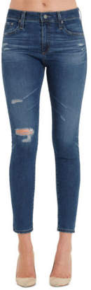 Adriano Goldschmied NEW Farrah Skinny Ankle Jeans Blue