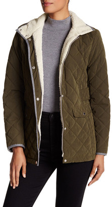 Nautica Long Sleeve Quilted Jacket $150 thestylecure.com