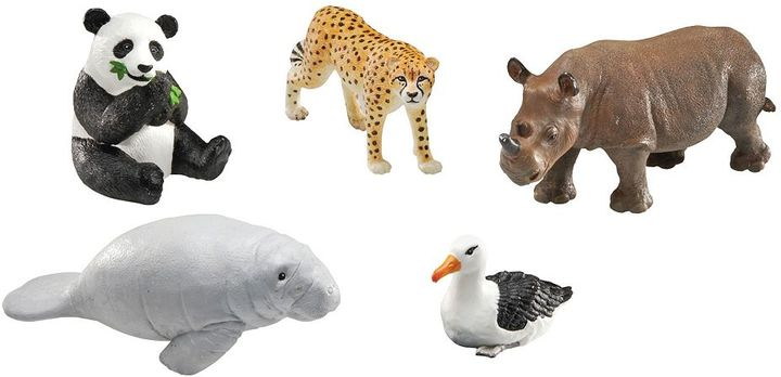 Learning Resources Jumbo Endangered Animals Set