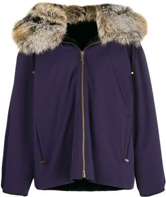 Liska fur hooded jacket
