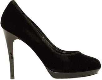 Azzaro Black Velvet High Heel