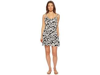 Kate Spade Aliso Beach #76 Flare Romper Cover-Up Women's Jumpsuit & Rompers One Piece