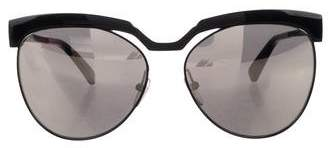 MCM Mirrored Monogram Sunglasses
