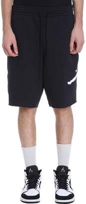 Nike Black Cotton Jumpman Air Shorts