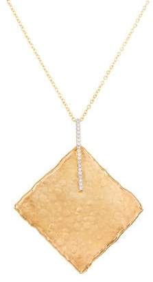 Reiss I. 14K Diamond Pendant Necklace