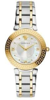 Versace Daphnis Two-Tone Stainless Steel Bracelet Watch