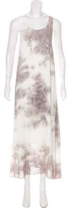 Enza Costa Tie-Dye Maxi Dress