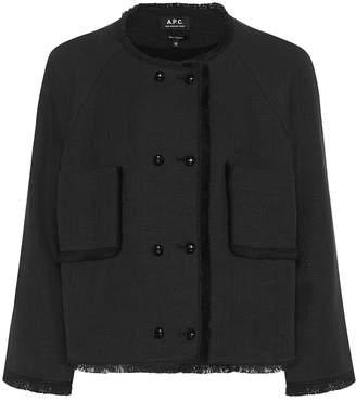A.P.C. Fabiola tweed jacket
