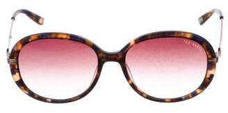 Ted Baker Round Gradient Sunglasses
