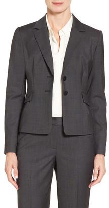 Classiques Entier Dobby Wool Suit Jacket $279 thestylecure.com