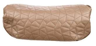 Akris Metallic Quilted Clutch