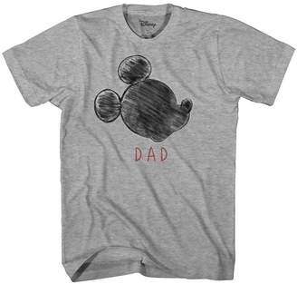 Novelty T-Shirts Disney Family Dad Graphic Tee