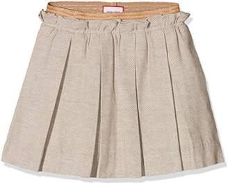 NECK & NECK Girl's 17I16008.61 Skirt, Multicolour (Light Brown/Dark Brown)