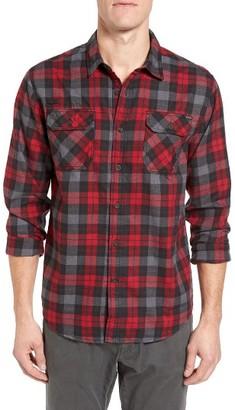 Men's Gramicci Burner Regular Fit Plaid Flannel Shirt $84.50 thestylecure.com
