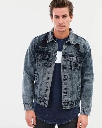 Denim Jacket Men Acid Shopstyle Australia