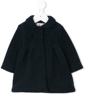 Il Gufo flower patch coat
