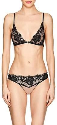 Fleur Du Mal Women's Scented Lace Bra & Bikini Brief Set