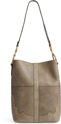 Frye Ilana Western Suede Bucket Bag