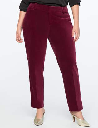 ELOQUII Kady-Fit Velvet Pant