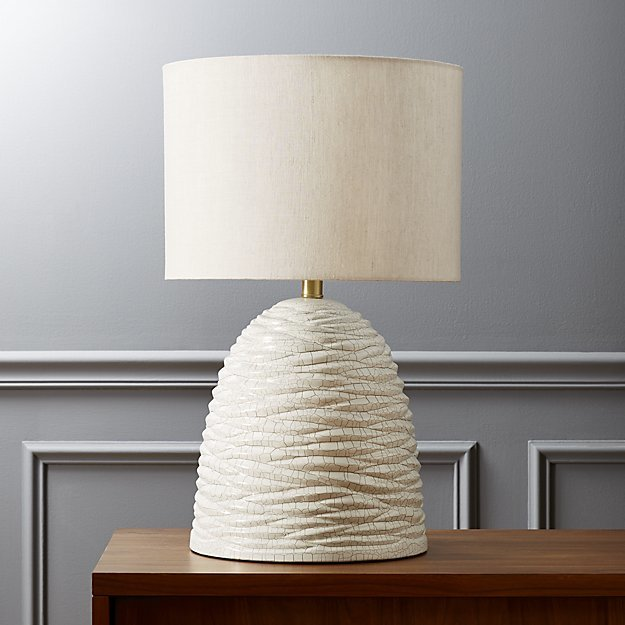 CB2 Beehive Table Lamp