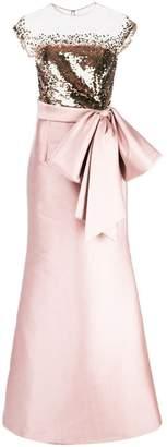 Sachin + Babi Elisa gown