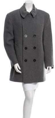 Burberry Wool Short Peacoat
