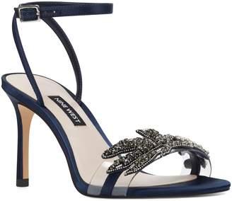 Nine West Jamielee Embellished Ankle Strap Sandal