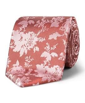 Van Heusen Coral Floral Design Vh Silk Tie