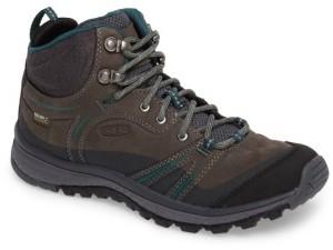 Women's Keen Terradora Leather Waterproof Hiking Boot $150 thestylecure.com