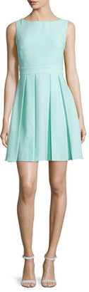Kate Spade New York Sleeveless Bow-Back Mini Dress, Mint Liqueur $174 thestylecure.com