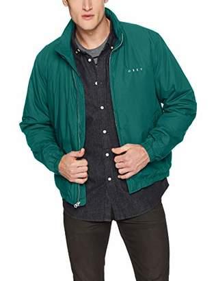 Obey Men's Debaser II Cropped Jacket