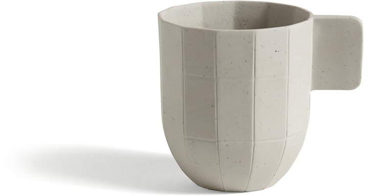 Hay - Paper Porcelain Kaffeetasse, Hellgrau