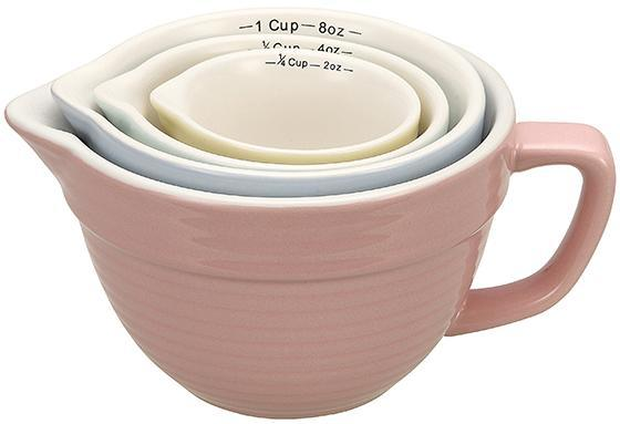 Batter Bowl Shaped Measuring Cups - Set of 4