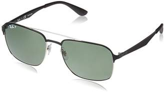 Ray-Ban 0rb3570 Square Sunglasses