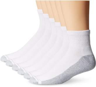 Hanes Men's Big-Tall ComfortBlend Ankle Socks