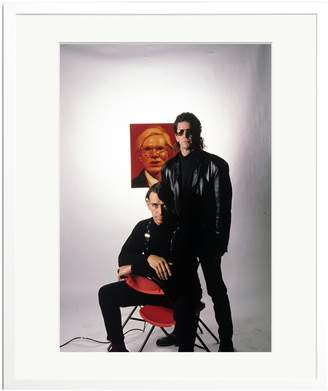 Sonic Editions John Cale, Lou Reed and Warhol by Waring Abbott (Framed)