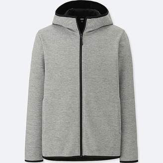 Uniqlo Men's Windproof Fleece Long-sleeve Full-zip Hoodie (online Exclusive)
