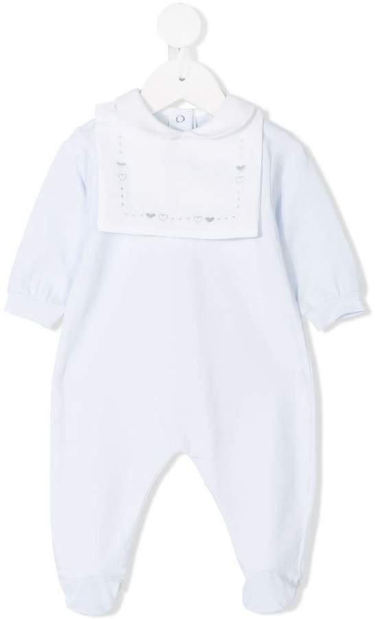 Siola embroidered bib pajamas