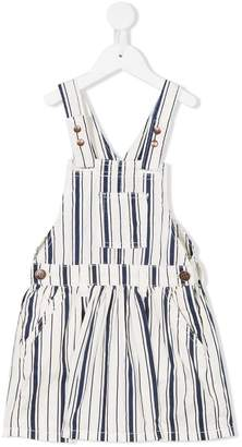 American Outfitters Kids striped dungarees-style dress