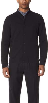 Club Monaco Clean Varsity Bomber Jacket