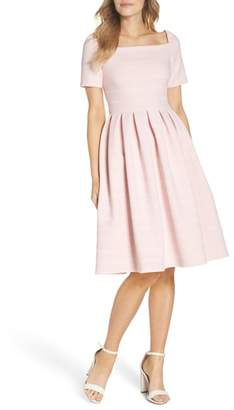 Gal Meets Glam Aria Fit & Flare Dress