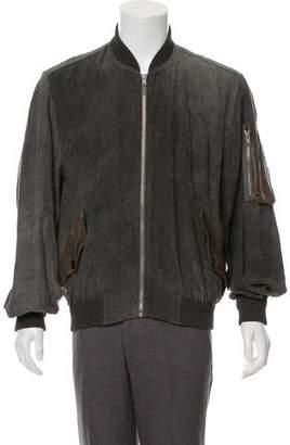 Damir Doma Linen Bomber Jacket