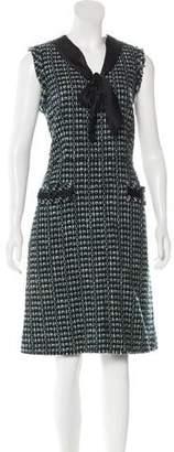 Marc Jacobs Tweed Midi Dress