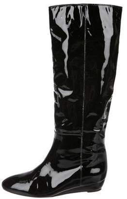Loeffler Randall Patent Leather Knee-High Boots