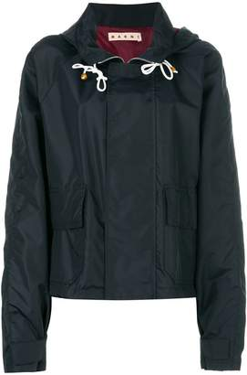 Marni concealed front zip jacket
