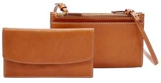 8be60c30108813 Fossil Sage Mini Bag Accessories Vintage Brown