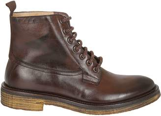 Seboy's Pull Tab Lace Up Boots
